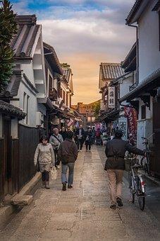 Okayama, Kurashiki, Japan, Bikan, 日本