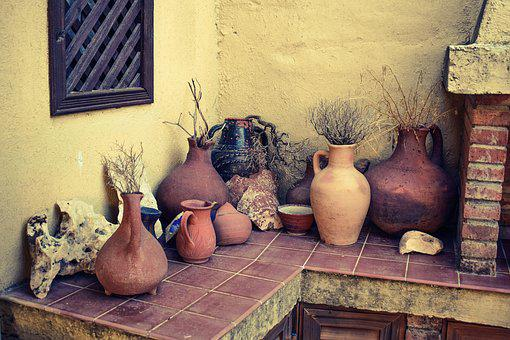 Containers, Pottery, Ceramic, Clay, Craft, Handmade