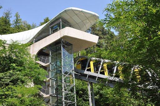 Innsbruck, Hungerburgbahn Track, Alpine Zoo