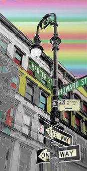 Nyc, Street, City, New, York, Manhattan, Usa, Urban
