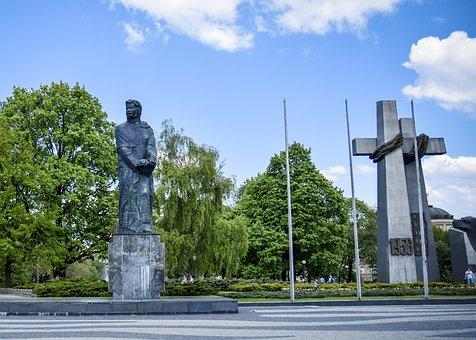 Square, Adam, Mickiewicz, Poznan
