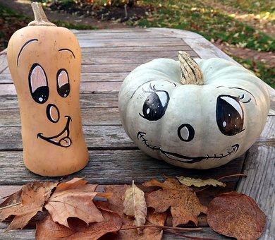 Pumpkin, Halloween, Fall, Decoration, Jack-o-lantern