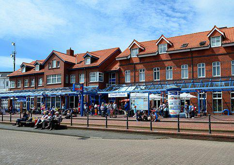 Borkum, Railway Station, Island Railway