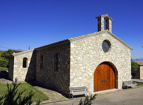 Church, Hermitage, Sanctuary, Chapel, Roof, Stone