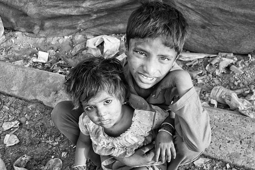 Children, Slums, Poverty, Poor, Child, Hungry, Social