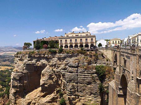 Ronda, City, Spain, Landmark, Architecture, Europe