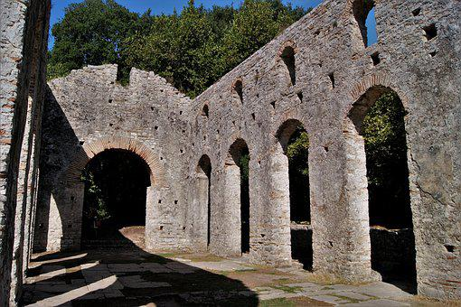 Travel, Albania, Butrint, Places Of Interest