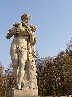 The Statue, An Allegory, Sculpture, Monument, Garden