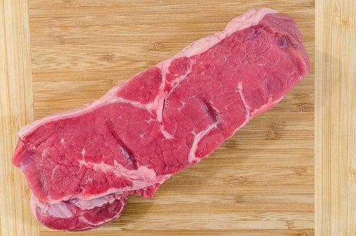 Meat, Wood, Beef, Steak, Food, Barbecue, Pepper, Fillet