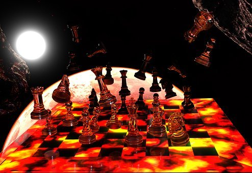 Chess, Chess Board, Chess Pieces, Chess Game