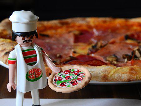 Pizza, Pizza Maker, Cooking, Playmobil, Toys, Play, Eat