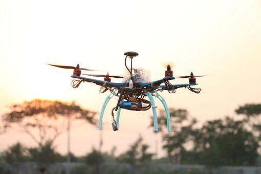 Drone, Quadcopter, Technology, Aircraft, Flight
