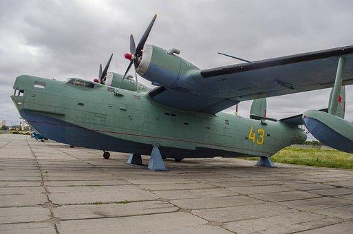 Plane, Boat, Exhibit, Naval Aviation