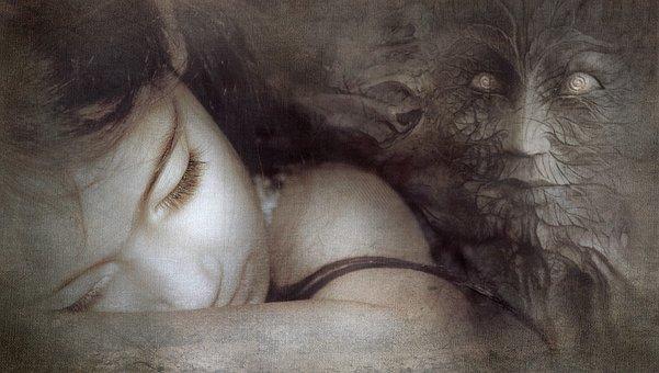 Fantasy, Girl, Sleep, Mask, Mystical, Fairy Tales