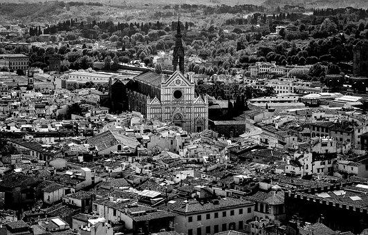 Florence, Tuscany, Italy, Monument, Landscape