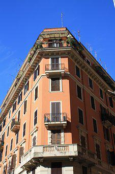 Rome, Building, Italy, Architecture, Cities, Facade