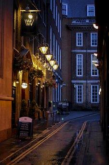 London, Streets, Lights