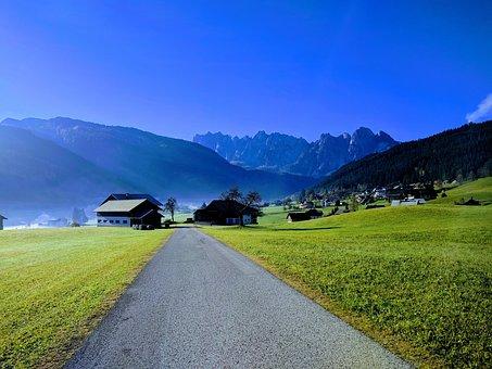 Gosau, Austria, Alpine, Alm, Meadow, Alpine Hut