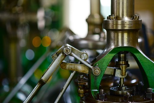 Machine, Mill, Industry, Steam, Milling, Machining