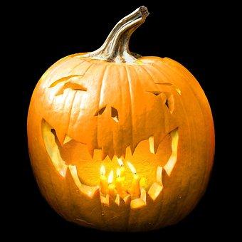 Halloween, Pumpkin, Orange, Scary, Holiday, Night
