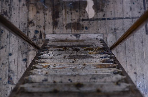 Old, Wood, Stairs, Steps, Texture, Surface, Wooden