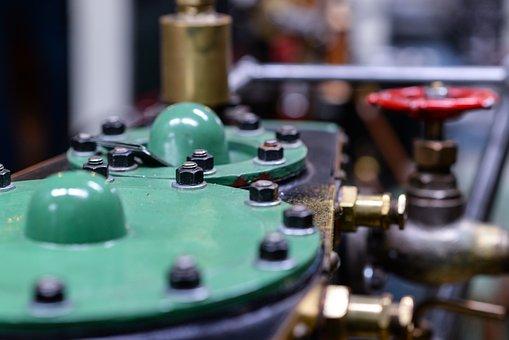 Machine, Mill, Industry, Steam, Milling, Machining