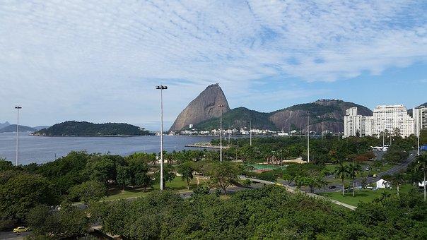 Rio De Janeiro, Sugar Loaf Pão De Açúcar, Cable Car