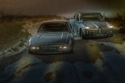 Thumbnails, Old Cars, Toys, Children, Play, Miniatures