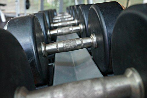 Weights, Muscles, Fitness, Workout, Strong, Training