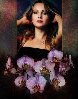 Girl, Mirror, Reflection, Model, View, Portrait, Person