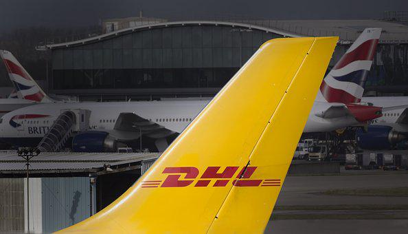 Dhl, Freight, Cargo, Airline, Airplane, Aviation