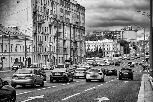 Metro, Moscow, Red Gate, Black And White, Bw, Obfoto