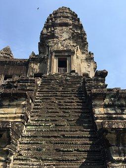 Cambodia, Angkor Wat, Ruins, Temple