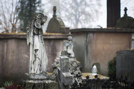 Cemetery, Old Cemetery, The Statue, The Statue Of