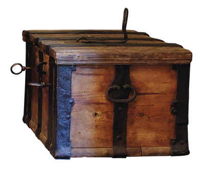 Chest, Travel Chest, Wood, Old, Old Wood