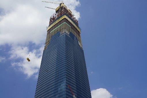 Construction, Skyscraper, 1mdb, Modern, City, Cityscape
