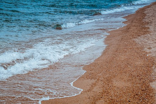 Tide, Water, Coast, Sky, Sea, Stones, Beach, Surf