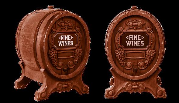 Wine Barrel, Oak Barrel, Wine, Port, Homemade Wine