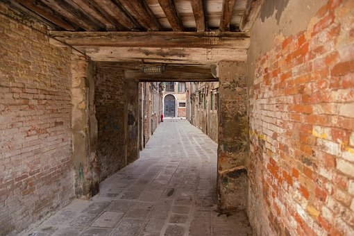 Venice, Italy, Gang, Old Town, Tourism, Mood