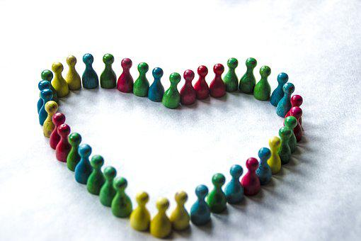 Diversity, Love, Colours, Together, People, Happy