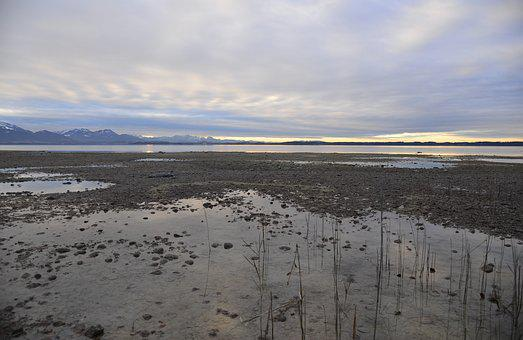 Seascape, Lake, Nature, Bavaria, Chiemsee, Mood, Water