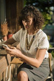 Business, Coffee Shop, Online, Break, Telecommunication