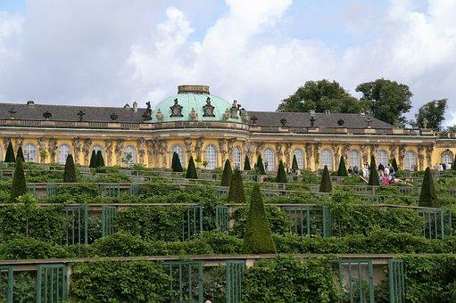 Lock, Palace, Potsdam