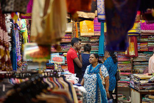 Diwali, Shopping, Textile, Festival, Sale, Traditional