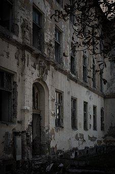 Ruins, Horror, Dark, Fear, Building, Scary, Halloween
