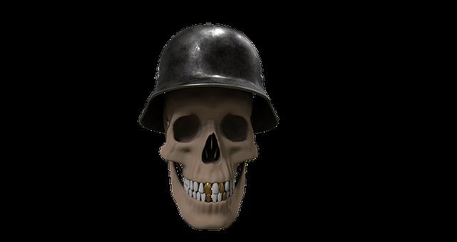 Skull And Crossbones, Helm, Hat, Skull, Bone, Death