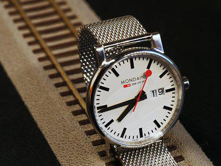 Wrist Watch, Sbb, Cff, Ffn, Swiss Federal Railways