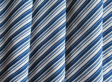 Textile, Striped, Blue