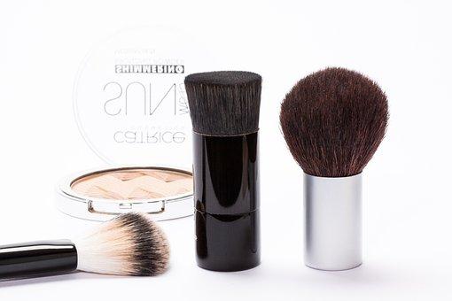 Cosmetics, Makeup, Make Up, Brush, Kabuki-pnsel
