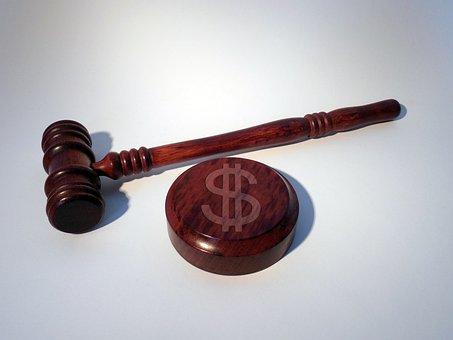 Hammer, Court, Dollar, Dollar Sign, Fine, Justice